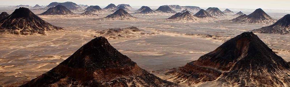 Day Two:The Black Desert-Bahariya Oasis - Cairo