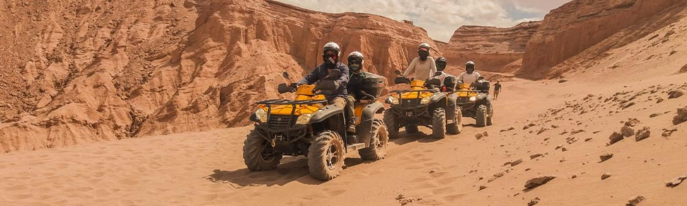 Tour Itinerary:Super Safari by Quads from Safaga Port