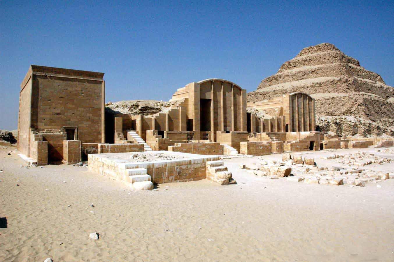 Sakkara Step Pyramid - Private Day Trip to Pyramids from Hurghada by Plane - Egypt Tours Portal