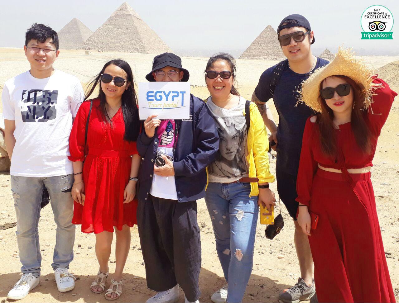 Giza-Pyramids - 5 Days Cairo & Nile Cruise Package - Egypt Tours Portal