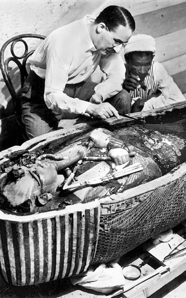 Carter and King Tut Coffin - Egypt Tours Portal