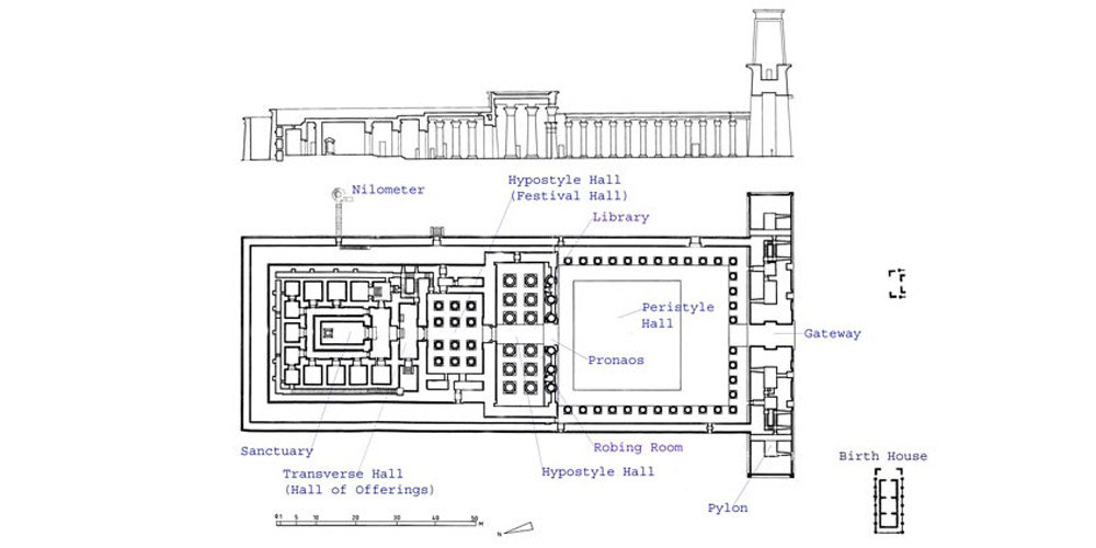 Edfu Temple Design - Egypt Tours Portal