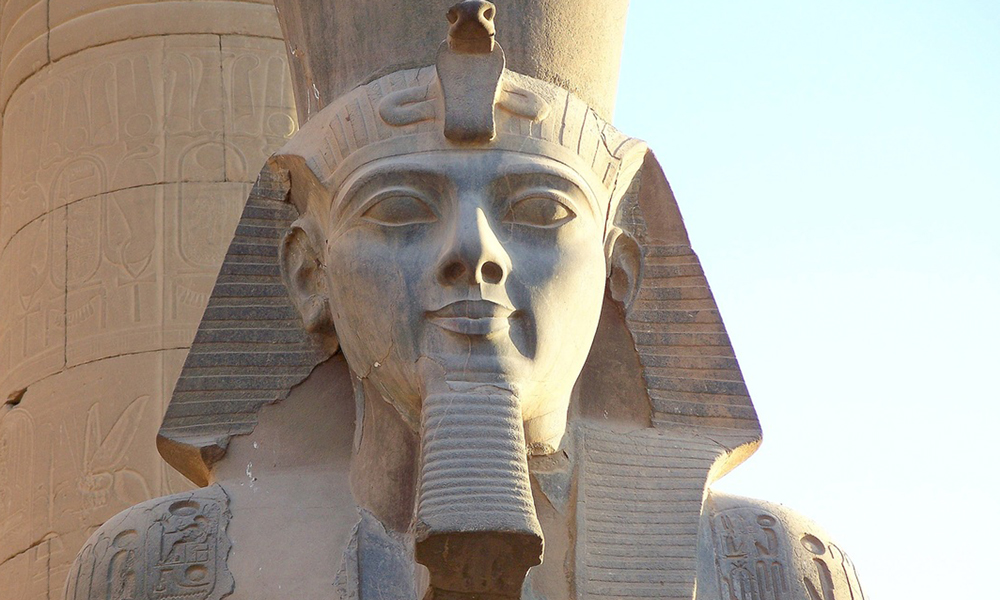 Statues of King Ramses II at Luxor Temple - Egypt Tours Portal