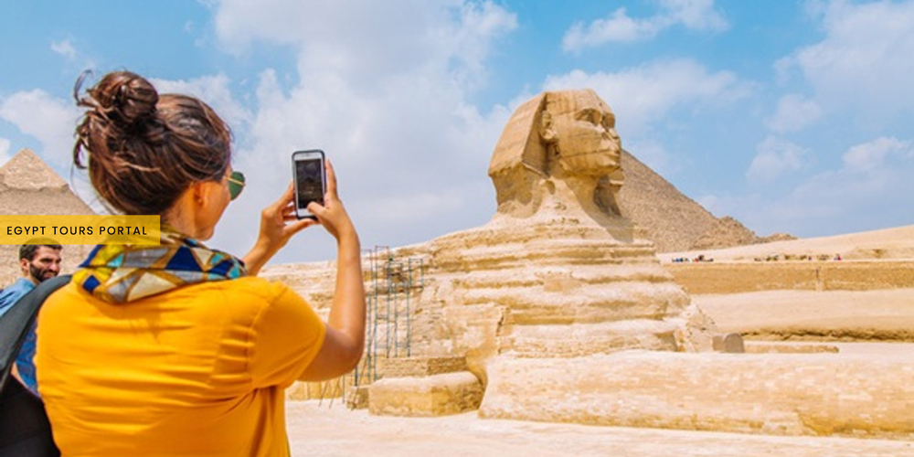 The Sphinx of King Chephren - Egypt Tours Portal