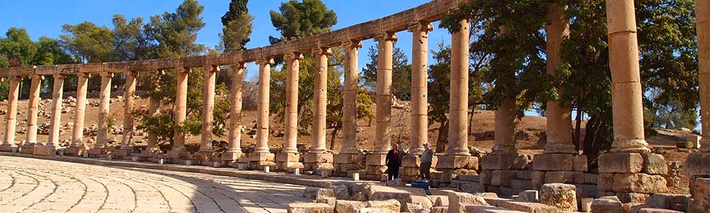 Day Nine:Visit Jerash - Fly from Amman to Cairo