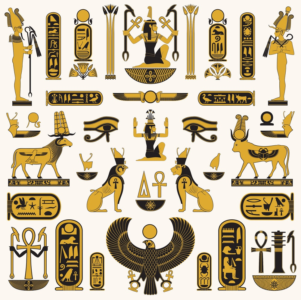Ancient Egyptian Symbols Egyptian Symbols And Meanings Egyptian