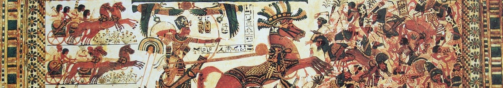 The Battle of Djahy of King Ramses III
