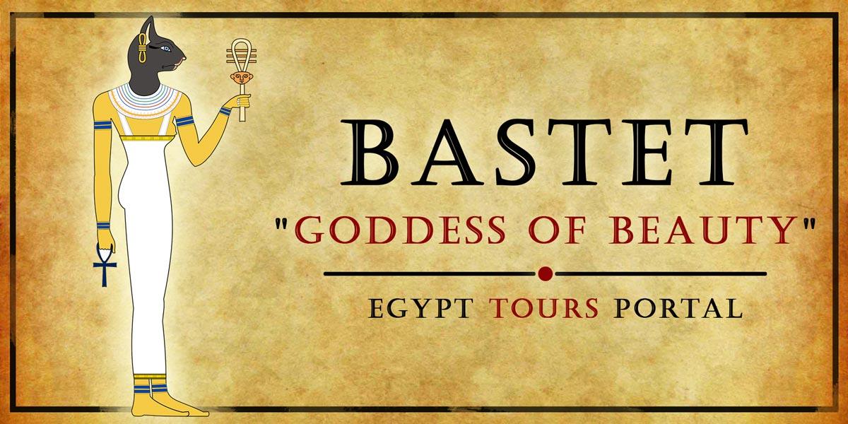 Bastet, Goddess of Beauty - Ancient Egyptian Gods And Goddesses - Egypt Tours Portal