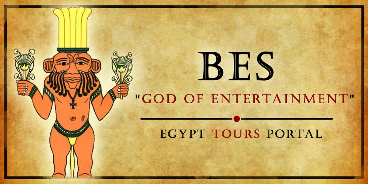 Bes, God of Entertainment - Ancient Egyptian Gods And Goddesses - Egypt Tours Portal