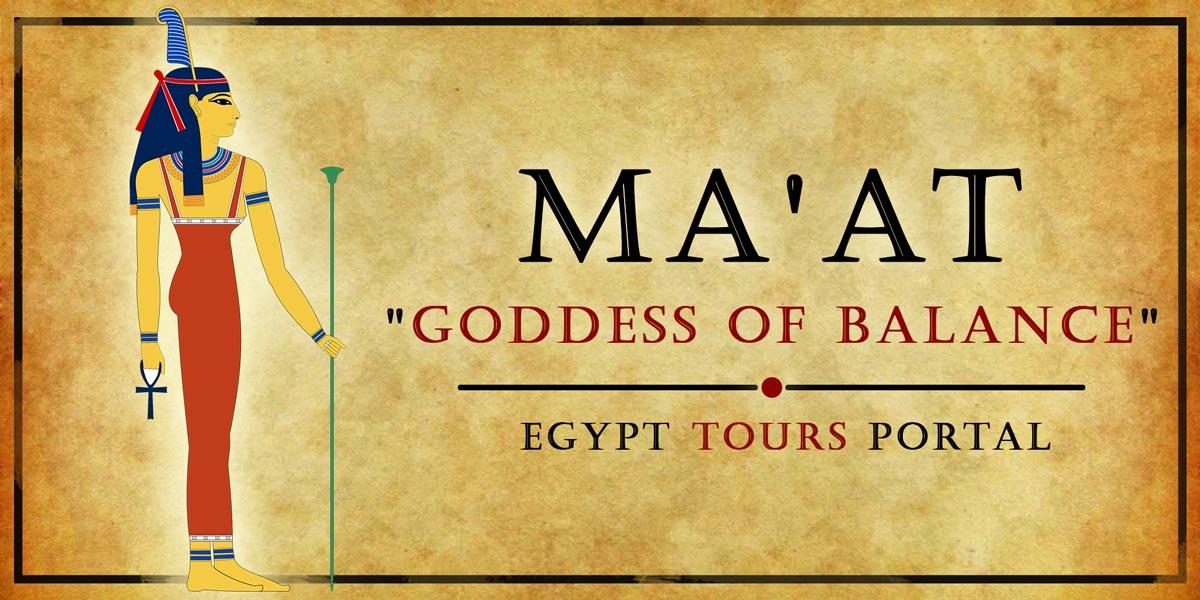 Ma'at, Goddess of Balance - Ancient Egyptian Gods And Goddesses - Egypt Tours Portal