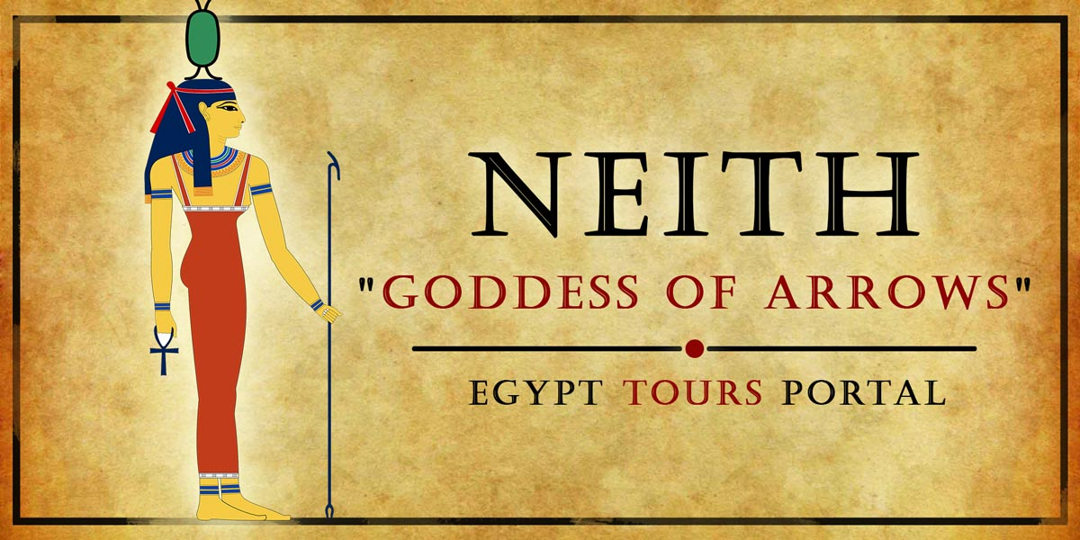 Neith, Goddess of Arrows - Ancient Egyptian Gods And Goddesses - Egypt Tours Portal