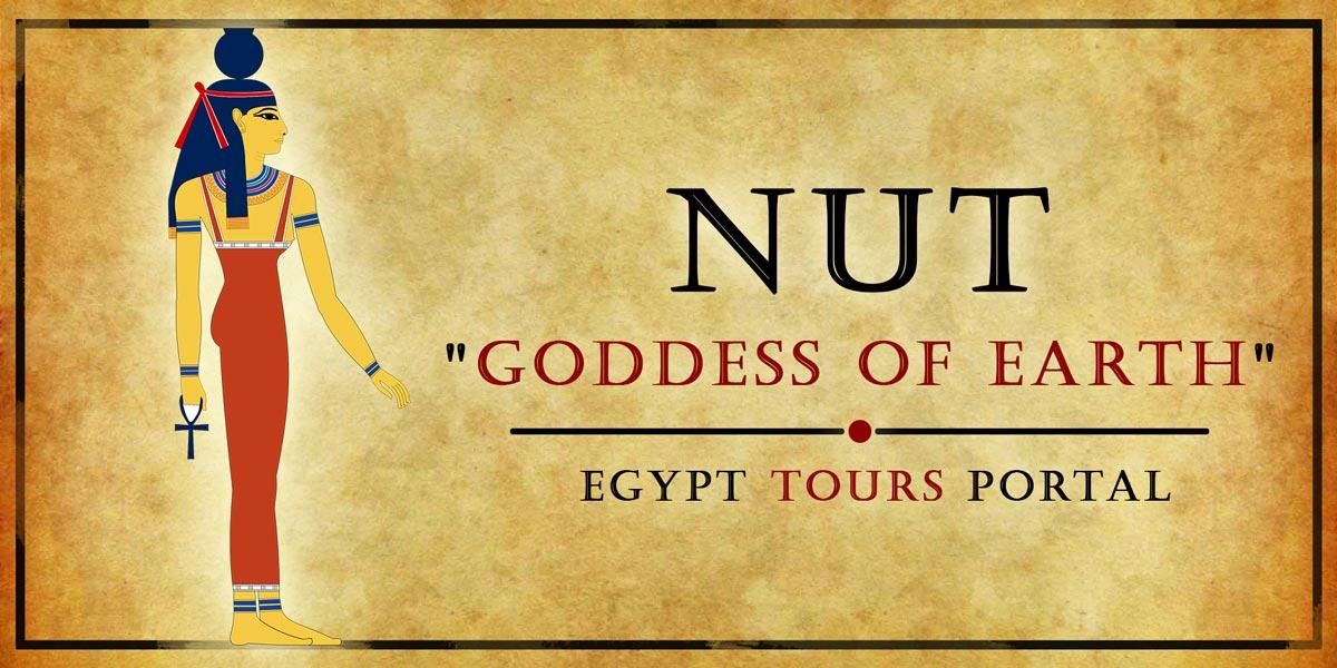 Nut, Goddess of Earth - Ancient Egyptian Gods And Goddesses - Egypt Tours Portal