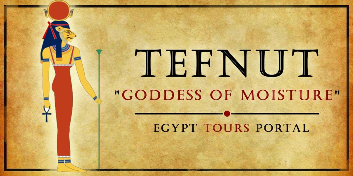 Tefnut, Goddess of Moisture - Ancient Egyptian Gods And Goddesses - Egypt Tours Portal