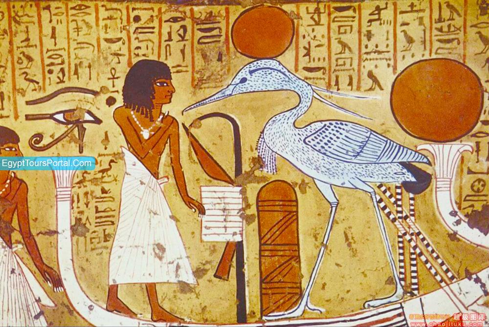 The Bennu Bird - Ancient Egyptian Symbols - Egypt Tours Portal