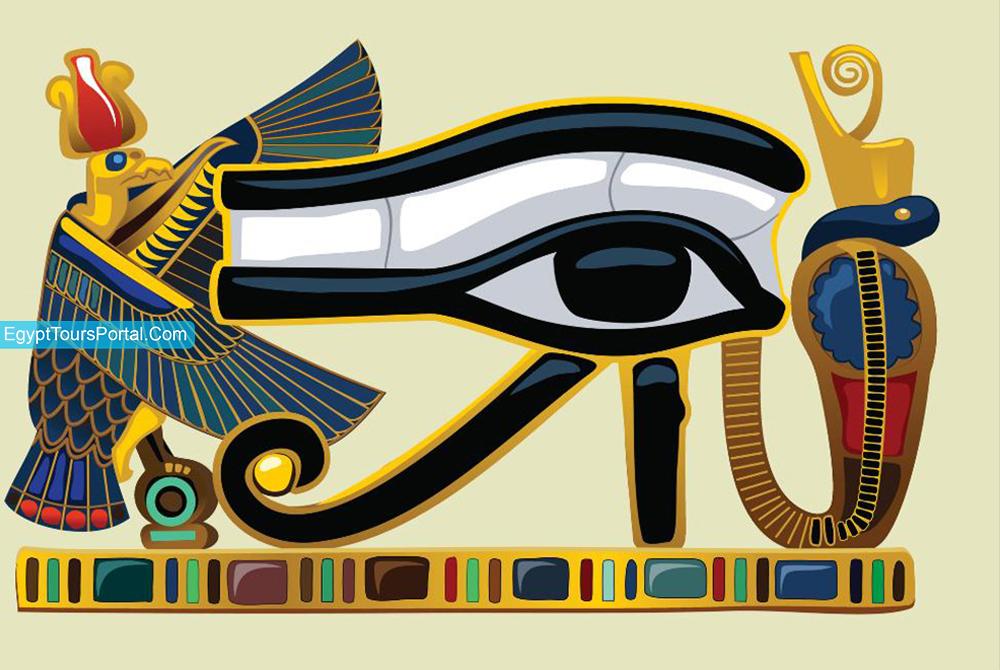 The Udjat Eye - Ancient Egyptian Symbols - Egypt Tours Portal