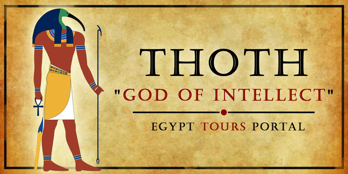 Thoth, God of Intellect - Ancient Egyptian Gods And Goddesses - Egypt Tours Portal