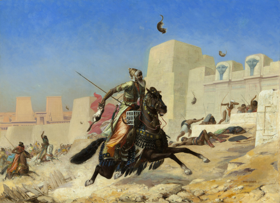 Battle of Pelusium - Egypt Tours Portal