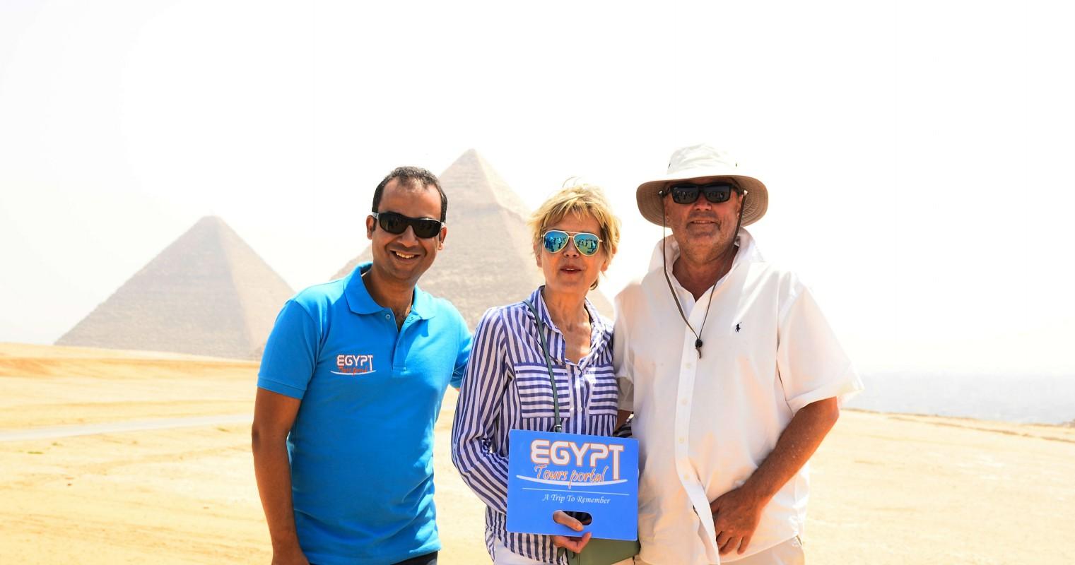 Giza Pyramids - 9 Days Egypt Tour Itinerary - Egypt Tours Portal