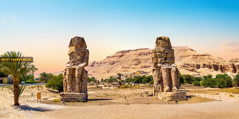 Description of Colossi of Memnon - Egypt Tours Portal