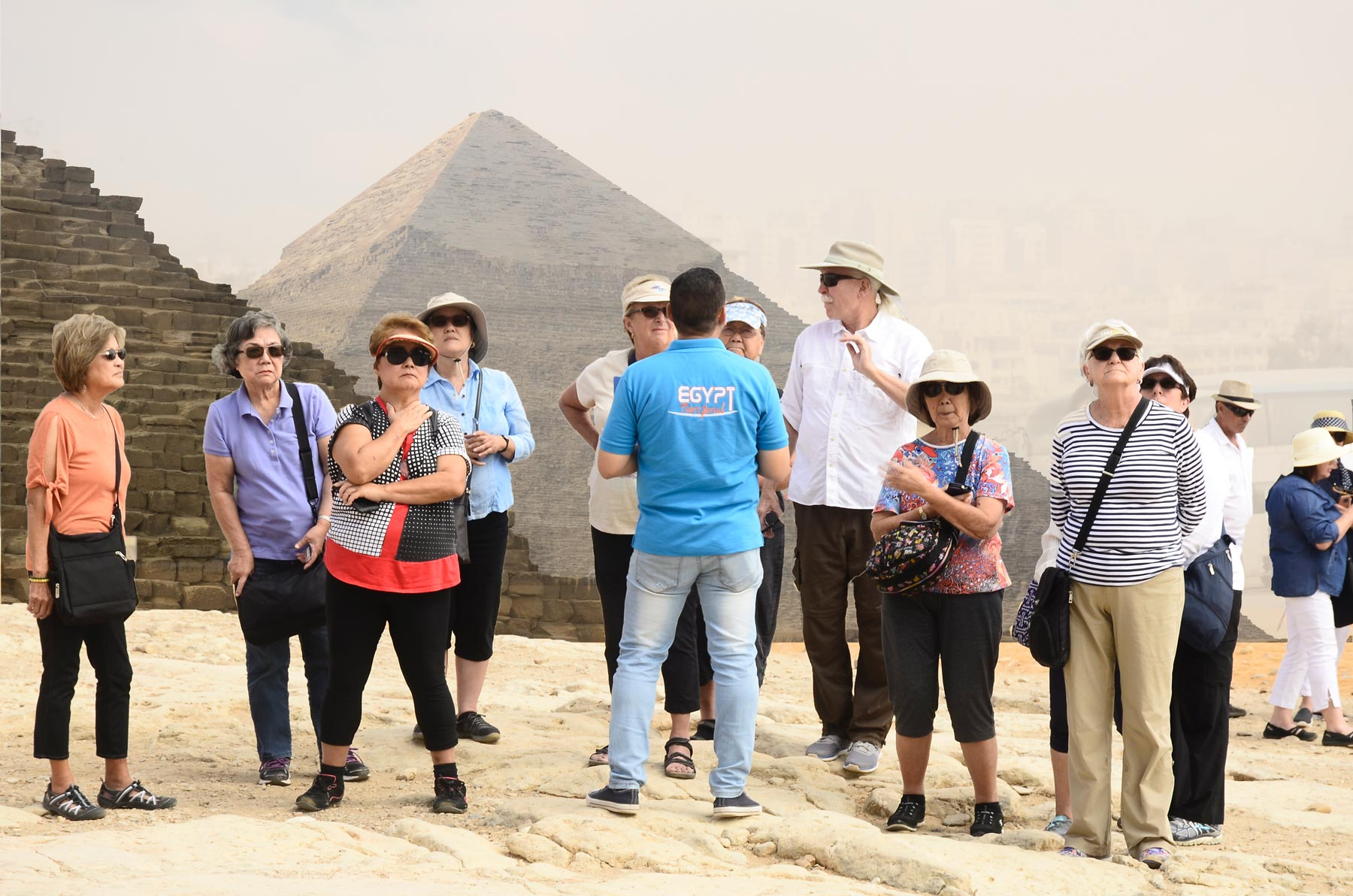 Giza Pyramids - Group Tours to Egypt | Small Group Tour Packages to Egypt | Egypt Tours Portal