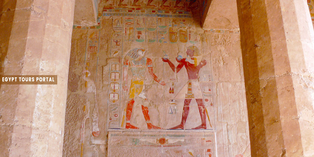 Hatshepsut Temple Inside - Egypt Tours Portal