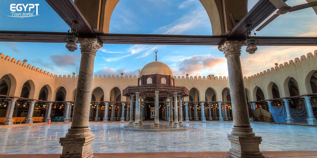 Amr Ibn Al-Aas Mosque - Egypt Tours Portal