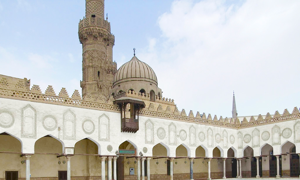 Architecture of Al-Azhar Mosque - Egypt Tours Portal