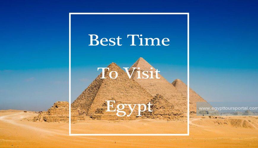 Giza Pyramids - Best Time to Visit Egypt - Egypt Tours Portal