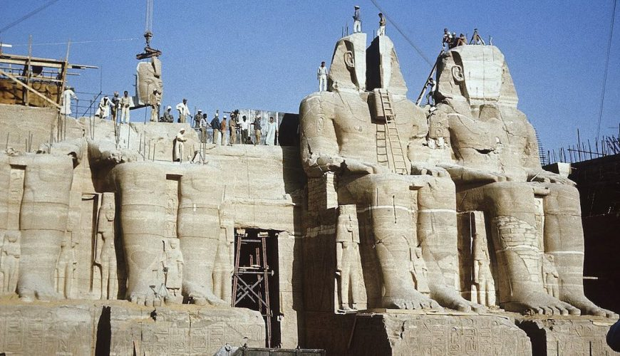 Abu Simbel Temples Relocation Project - Egypt Tours Portal