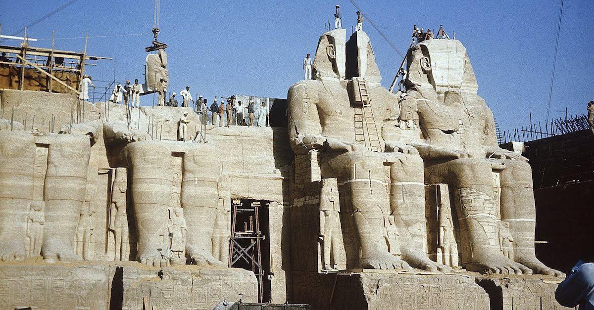 Abu Simbel Temples Relocation Project - Egypt Tours Portal