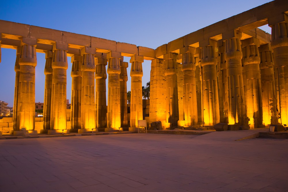 Luxor Temple at Night - Egypt Tours Portal