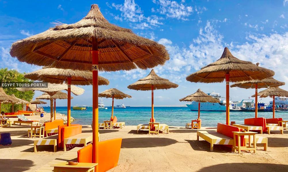 Orange Beach - Beaches in Hurghada - Egypt Tours Portal