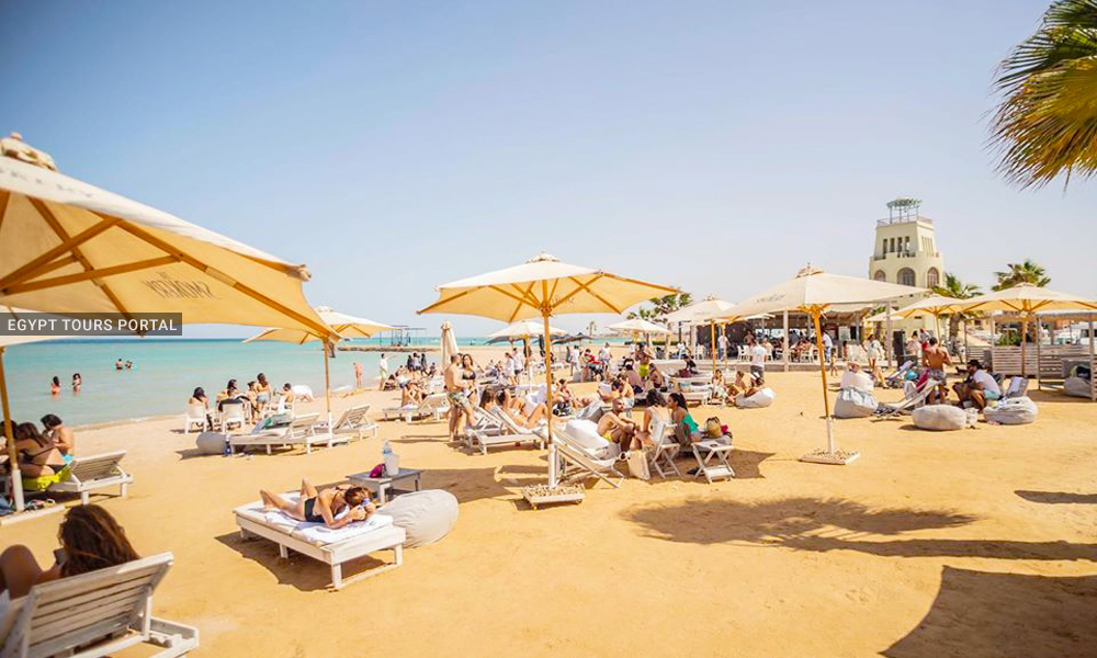 The Smokery Beach - Beaches in Hurghada - Egypt Tours Portal