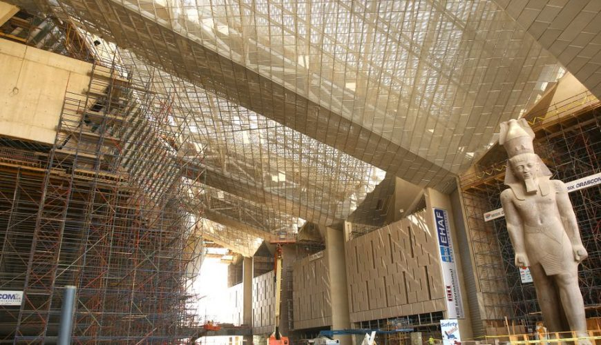 The Grand Egyptian Museum | The New Egyptian Museum - Egypt Tours Portal