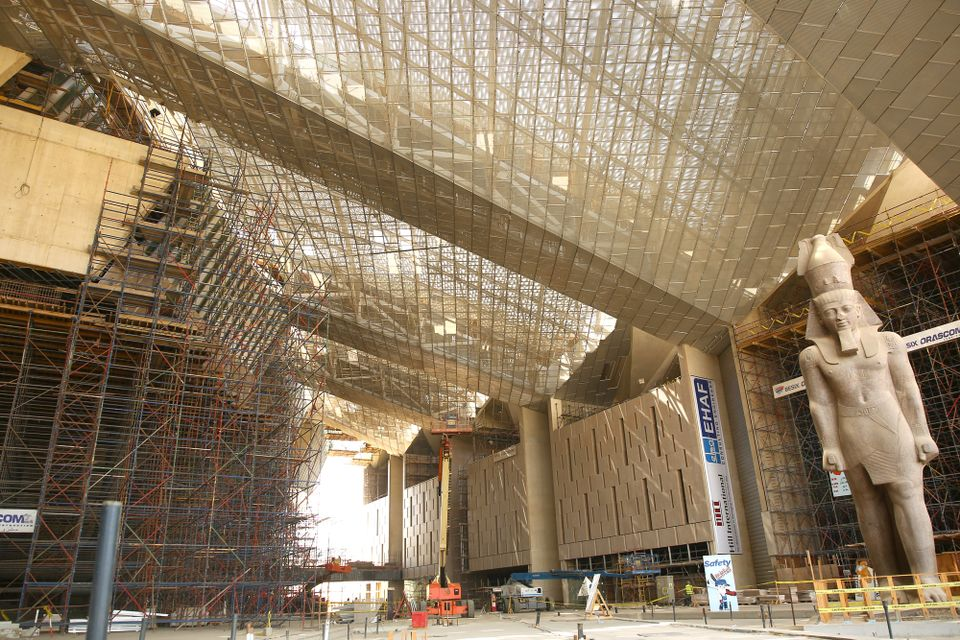 The Grand Egyptian Museum   The New Egyptian Museum - Egypt Tours Portal