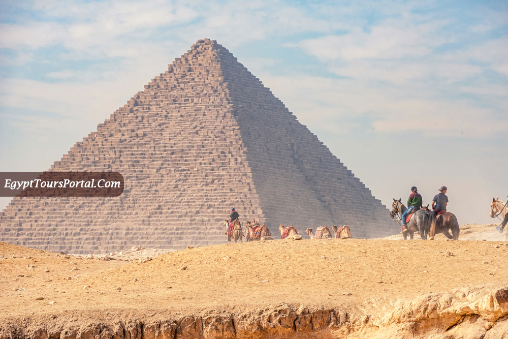 Location of the Pyramids - Egypt Tours Portal