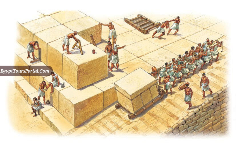 The Workforce of the Pyramids - Egypt Tours Portal