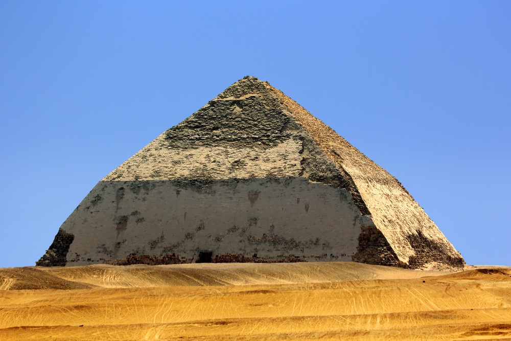 Bent Pyramid Dahshur - Egypt Tours Portal
