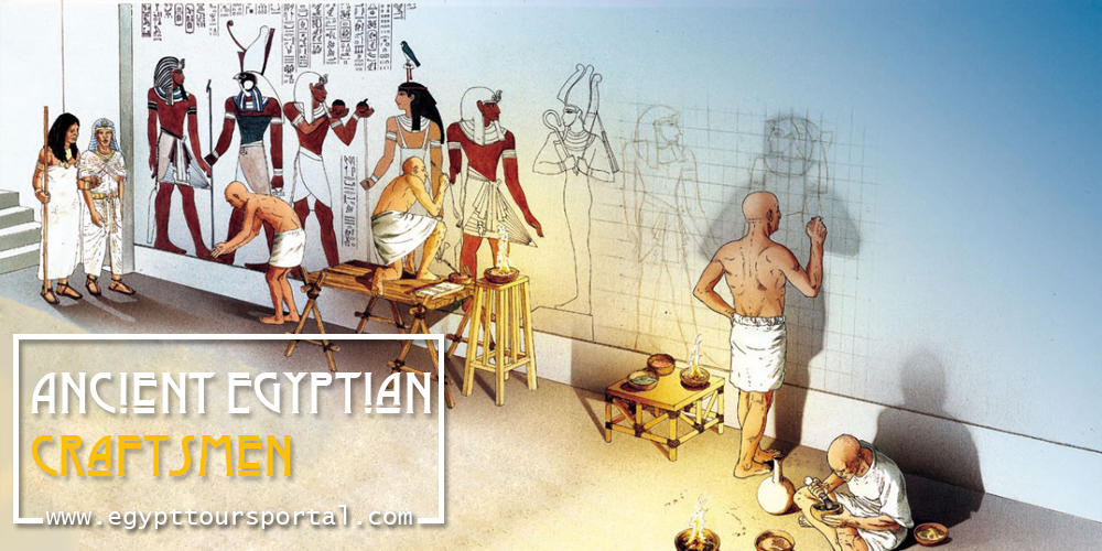 Ancient Egyptian Craftsmen - Egypt Tours Portal
