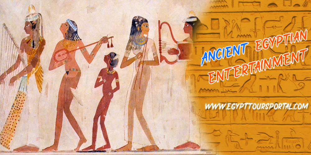 Ancient Egyptian Entertainment - Egypt Tours Portal