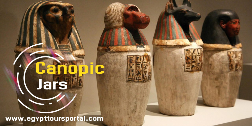Canopic Jars - What Are Canopic Jars Used For - Egyptian Canopic Jars - Egypt Tours Portal