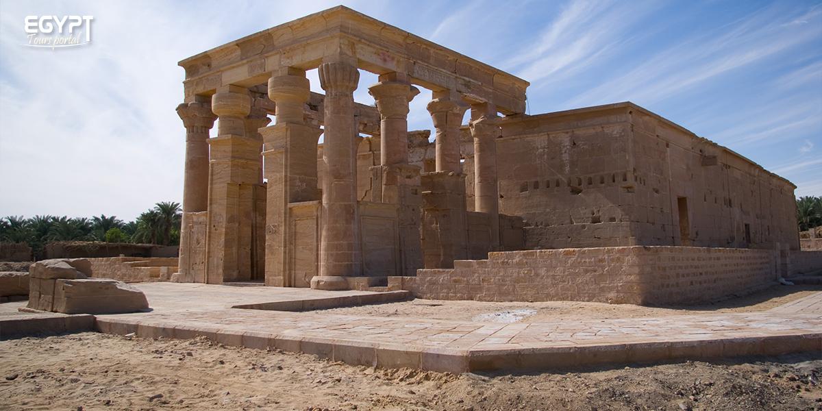 Temples in Kharga Oasis - Kharga Oasis Tavel Guide - Egypt Tours Portal