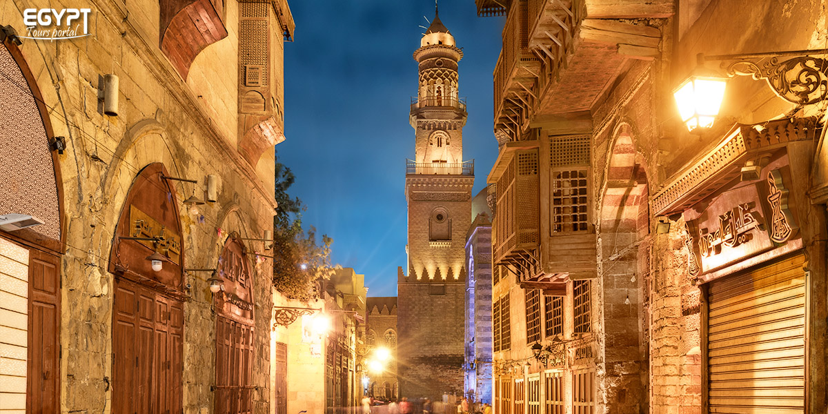 Al Muizz Street By Night - How to Spend a Night in Cairo - Egypt Tours Portal