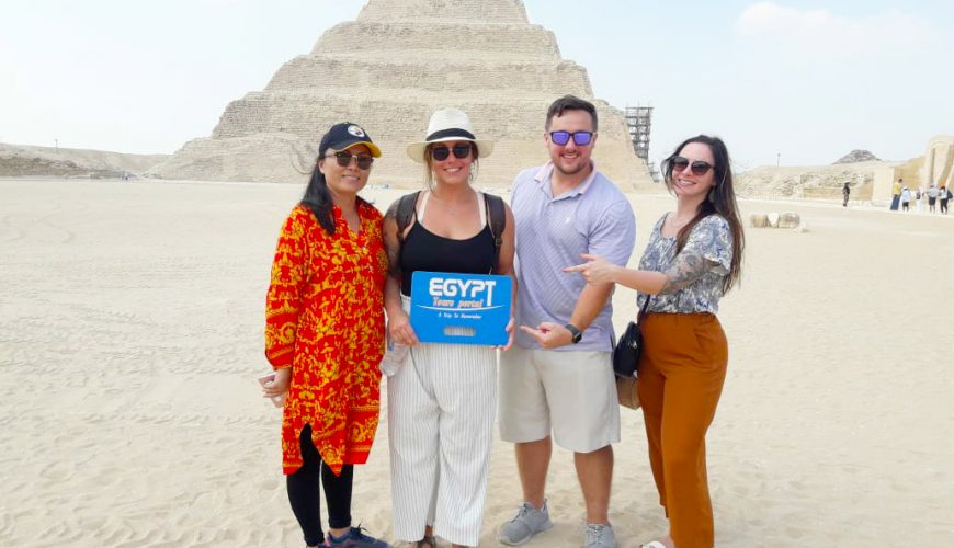 Giza Pyramids - How to Plan A Vacation With Friends in Egypt - EGypt Tours Portal