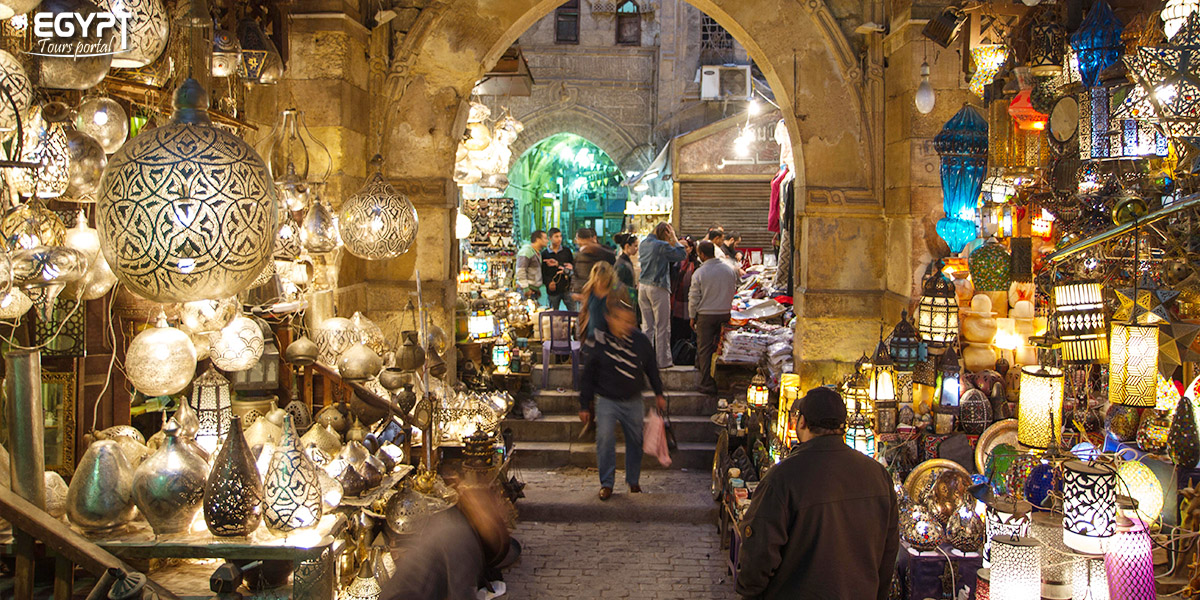 Khan El Khalili By Night - How to Spend a Night in Cairo - Egypt Tours Portal
