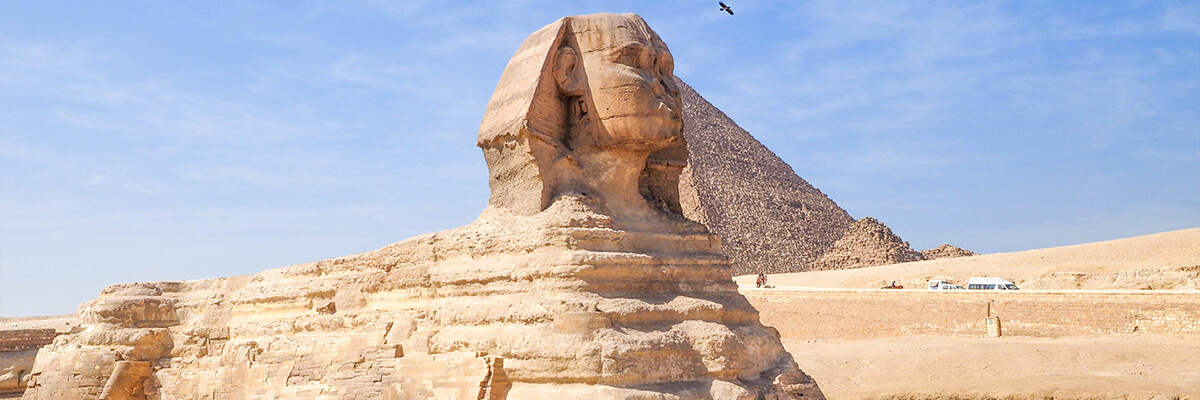 Day One:Fly from Port Ghalib to the Giza Pyramids Complex