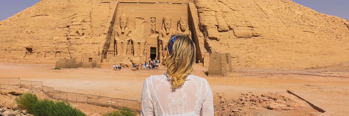 Day Ten:Tour to Abu Simbel Temples by Car & Fly to Cairo