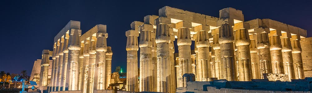 Day Three:Fly to Luxor - Visit Luxor East Bank Attractions - Check-in the Cruise