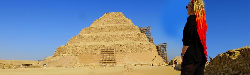 Day Two:Witness Giza Pyramids & Saqqara Region