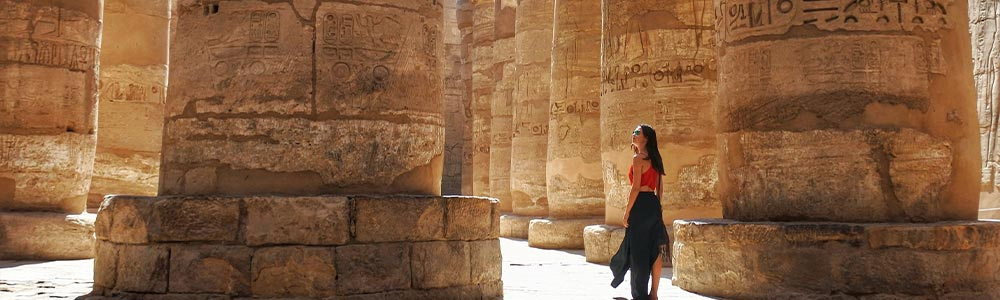 Day Three:Fly to Luxor - Tour to the Holy Monuments of Luxor East Bank